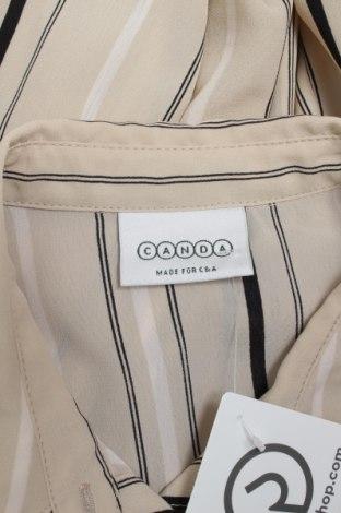 Γυναικείο πουκάμισο Canda, Μέγεθος M, Χρώμα Καφέ, Πολυεστέρας, Τιμή 9,90€