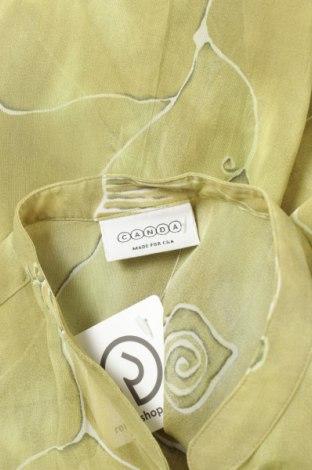 Γυναικείο πουκάμισο Canda, Μέγεθος XL, Χρώμα Πράσινο, 100% βισκόζη, Τιμή 11,86€