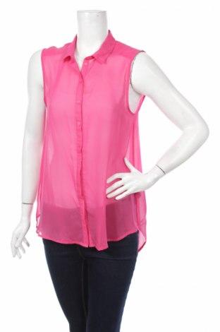 Γυναικείο πουκάμισο H&M, Μέγεθος L, Χρώμα Ρόζ , 100% πολυεστέρας, Τιμή 12,37€