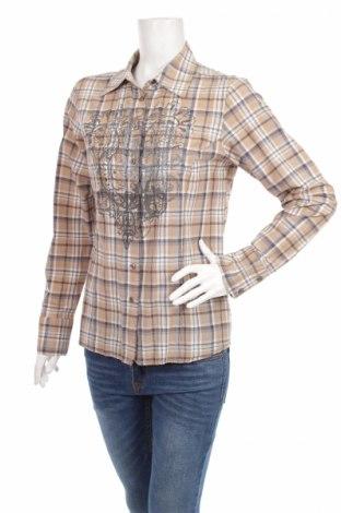 Дамска риза Kapalua, Размер S, Цвят Многоцветен, 53% памук, 36% полиестер, 11% еластан, Цена 8,37лв.