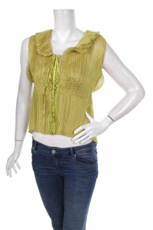 Γυναικείο πουκάμισο Lucy Paris, Μέγεθος M, Χρώμα Πράσινο, Πολυεστέρας, Τιμή 10,82€