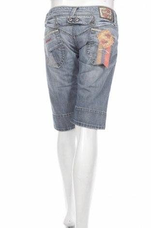 Γυναικείο κοντό παντελόνι Bandits Du Monde, Μέγεθος M, Χρώμα Μπλέ, Τιμή 4,82€