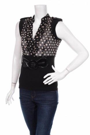 Γυναικείο αμάνικο μπλουζάκι Kays, Μέγεθος S, Χρώμα Μαύρο, Πολυεστέρας, ελαστάνη, Τιμή 2,78€