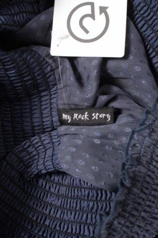Пола My Rock Story, Размер S, Цвят Син, Цена 4,84лв.