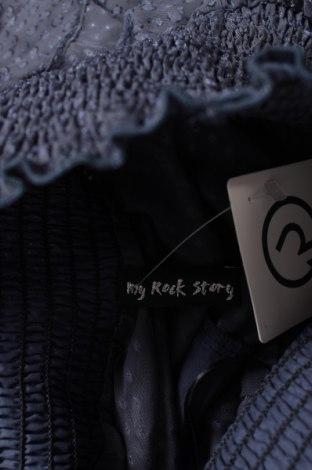 Φούστα My Rock Story, Μέγεθος S, Χρώμα Μπλέ, Τιμή 4,08€