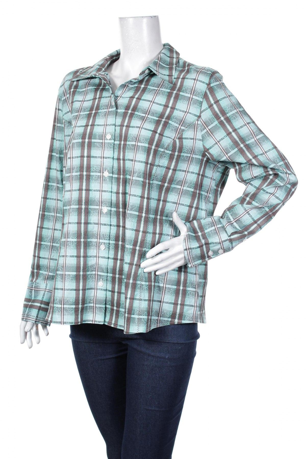 Γυναικείο πουκάμισο Bonita, Μέγεθος XL, Χρώμα Πολύχρωμο, 57% βαμβάκι, 42% πολυεστέρας, 1% ελαστάνη, Τιμή 19,30€