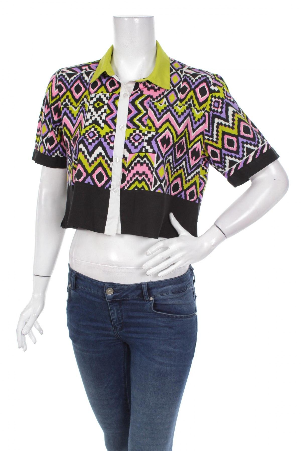 Γυναικείο πουκάμισο Miso, Μέγεθος M, Χρώμα Πολύχρωμο, Πολυεστέρας, Τιμή 14,09€