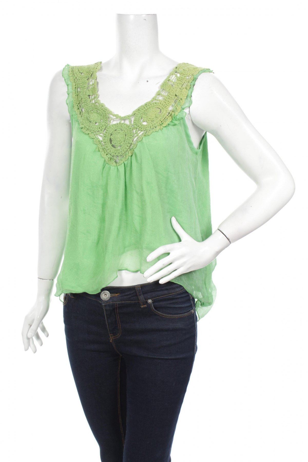 Дамски потник Candy Couture, Размер L, Цвят Зелен, Цена 22,00лв.