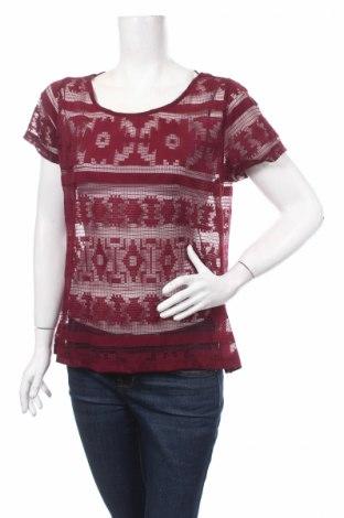 Дамска блуза Cubus, Размер L, Цвят Червен, Полиестер, Цена 3,20лв.