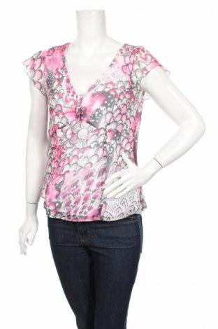 Дамска блуза Gerry Weber, Размер L, Цвят Многоцветен, Цена 5,40лв.