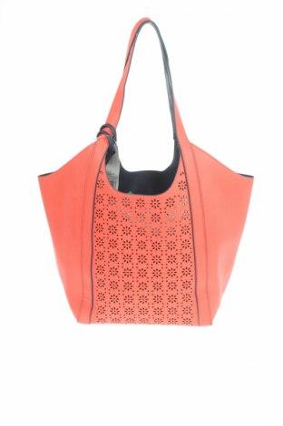 Γυναικεία τσάντα F&F, Χρώμα Πορτοκαλί, Δερματίνη, Τιμή 15,78€