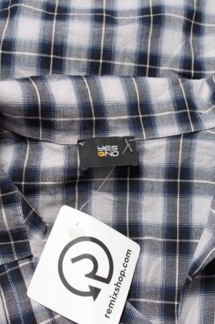 Дамска риза Yes Or No, Размер M, Цвят Сив, Памук, Цена 19,00лв.