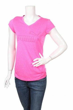 Дамска тениска Puma, Размер S, Цвят Розов, Полиестер, Цена 18,20лв.