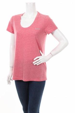 Дамска тениска Reebok, Размер M, Цвят Розов, 50% полиестер, 25% вискоза, 25% памук, Цена 8,50лв.