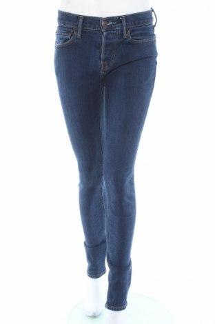 Дамски дънки Abercrombie & Fitch, Размер S, Цвят Син, 95% памук, 4% полиестер, 1% еластан, Цена 10,50лв.