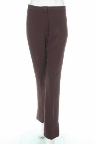 Дамски панталон Betty Barclay, Размер M, Цвят Кафяв, 96% полиестер, 4% еластан, Цена 16,68лв.