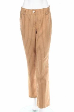 Дамски панталон Foreigner, Размер M, Цвят Бежов, 95% полиестер, 5% вискоза, Цена 7,40лв.