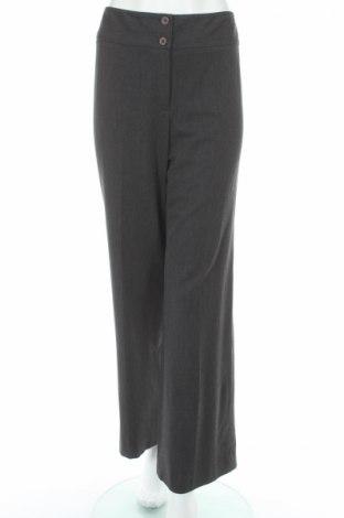 Дамски панталон Jones New York, Размер M, Цвят Сив, 47% полиестер, 47% вискоза, 6% еластан, Цена 18,54лв.