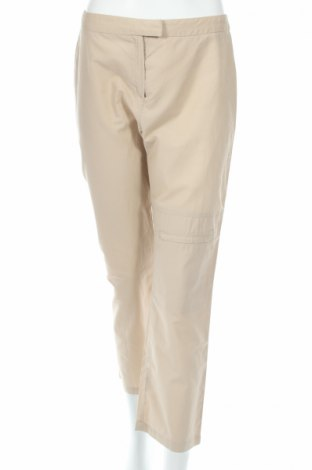 Дамски панталон Max&Co., Размер M, Цвят Бежов, 70% памук, 30% полиамид, Цена 8,18лв.