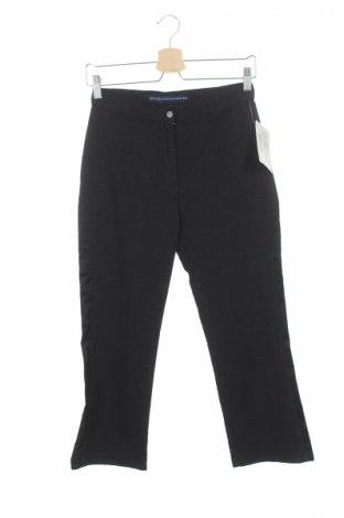 Дамски панталон PLOUMANAC'H, Размер XS, Цвят Черен, 80% памук, 17% вискоза, 3% еластан, Цена 15,63лв.