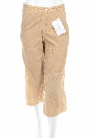 Дамски панталон PLOUMANAC'H, Размер M, Цвят Бежов, Памук, Цена 7,43лв.