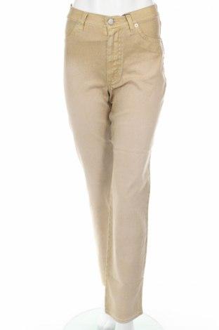 Дамски панталон PLOUMANAC'H, Размер S, Цвят Бежов, 98% памук, 2% еластан, Цена 84,24лв.