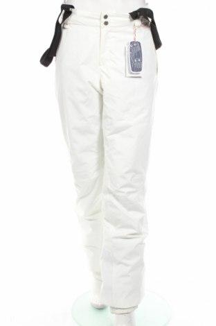 Дамски панталон за зимни спортове Peak Performance, Размер M, Цвят Бял, Полиестер, Цена 108,56лв.