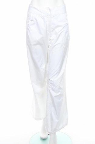 Дамски спортен панталон Adidas, Размер L, Цвят Бял, Полиестер, Цена 14,30лв.