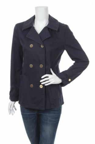 Дамски шлифер Armani Jeans, Размер L, Цвят Син, 98% памук, 2% еластан, Цена 49,92лв.