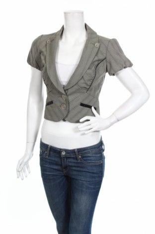 Γυναικείο σακάκι Dkny Jeans, Μέγεθος XS, Χρώμα Πράσινο, 65% πολυεστέρας, 31% βισκόζη, 4% ελαστάνη, Τιμή 10,45€