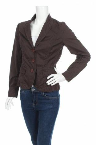 Дамско сако Just B, Размер M, Цвят Кафяв, Памук, Цена 7,36лв.