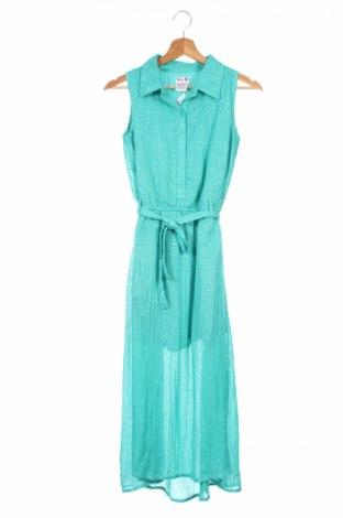 Detské šaty  Lofff, Veľkosť 15-18y/ 170-176 cm, Farba Zelená, 100% bavlna, Cena  8,30€