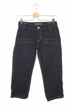 Детски дънки Ikks, Размер 11-12y/ 152-158 см, Цвят Син, 97% памук, 3% еластан, Цена 14,43лв.