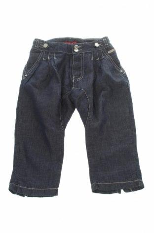 Детски дънки Liu Jo, Размер 8-9y/ 134-140 см, Цвят Син, 59% памук, 41% лен, Цена 10,40лв.
