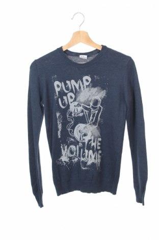 Детски пуловер Blukids, Размер 13-14y/ 164-168 см, Цвят Син, Цена 6,75лв.