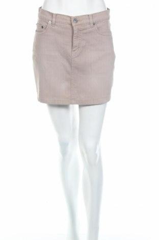 Пола New Look, Размер S, Цвят Бежов, 98% памук, 2% еластан, Цена 6,40лв.