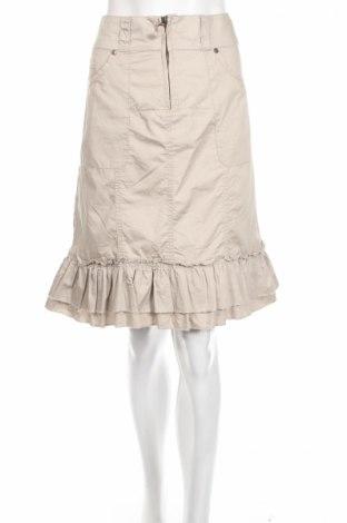 Φούστα Oxmo, Μέγεθος M, Χρώμα  Μπέζ, 100% βαμβάκι, Τιμή 2,37€