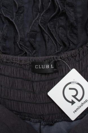 Рокля Club L, Размер S, Цвят Сив, Полиестер, Цена 27,00лв.