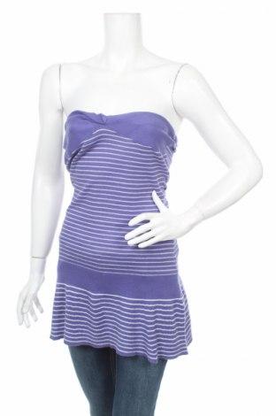 Дамски пуловер Lynne, Размер M, Цвят Лилав, 95% памук, 5% полиестер, Цена 9,88лв.