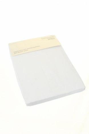 Чаршаф с ластик, Цвят Бял, 50% памук, 50% полиестер, Цена 15,12лв.