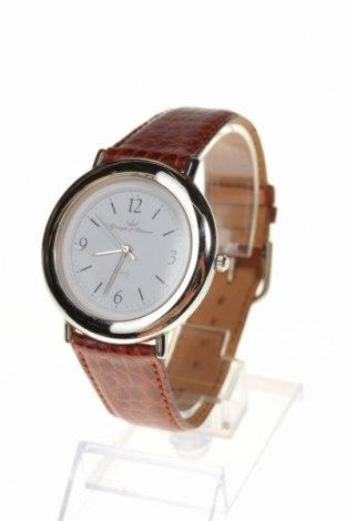 Ρολόι Yonger & Bresson, Χρώμα Καφέ, Δερματίνη, μέταλλο, Τιμή 42,40€