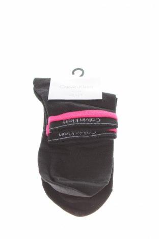 Ciorapi Calvin Klein, Mărime M, Culoare Negru, 36% bumbac, 35% poliamidă, 27% modal, 2% elastan, Preț 57,89 Lei