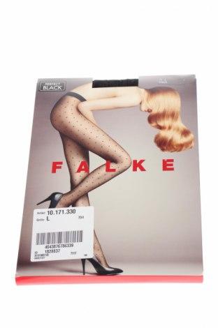 Чорапогащи Falke, Размер L, Цвят Черен, 91% полиамид, 9% еластан, Цена 27,36лв.
