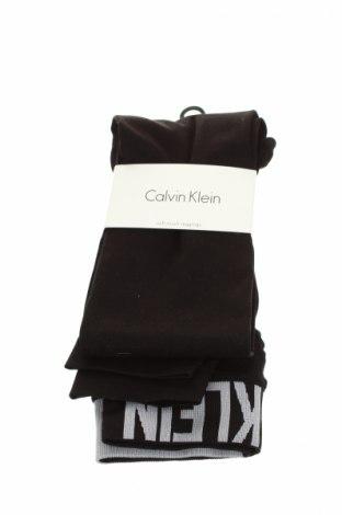 Harisnya-Leggings Calvin Klein, Méret S, Szín Fekete, 94% poliamid, 6% elasztán, Ár 9384 Ft