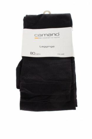 Чорапогащник - клин Camano, Размер L, Цвят Черен, 84% полиамид, 16% еластан, Цена 9,36лв.