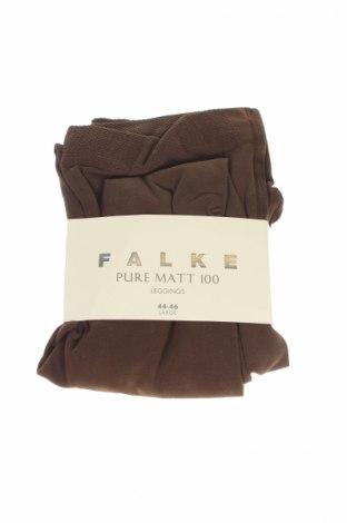 Чорапогащник - клин Falke, Размер XL, Цвят Кафяв, 91% полиамид, 9% еластан, Цена 25,92лв.