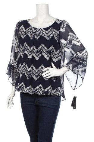 Дамска блуза Ab Studio, Размер M, Цвят Син, 100% полиестер, Цена 13,39лв.