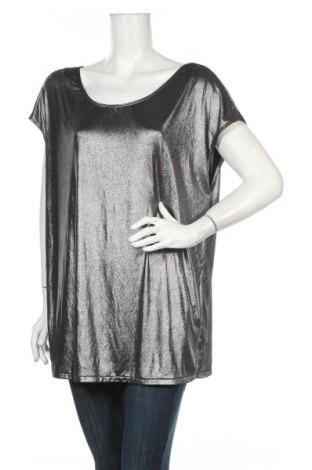 Дамска блуза American Apparel, Размер L, Цвят Черен, 93% полиестер, 7% еластан, Цена 5,51лв.