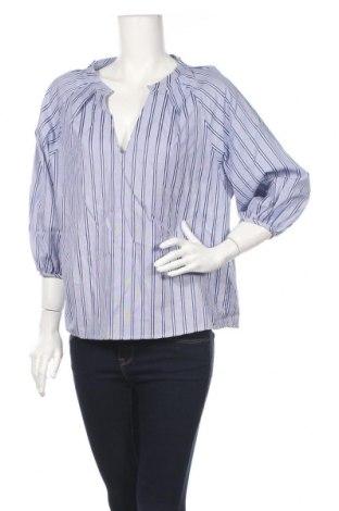 Дамска блуза Angela Davis, Размер M, Цвят Син, Памук, Цена 25,52лв.
