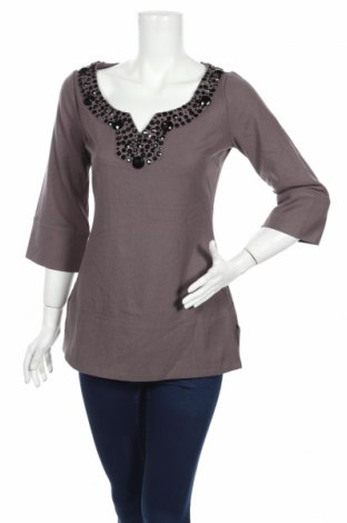 Дамска блуза BCBG Max Azria, Размер XS, Цвят Лилав, 43% вискоза, 42% полиестер, 10% вълна, 5% еластан, Цена 18,90лв.